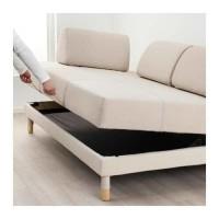 T2105 IKEA FLOTTEBO Sofa tempat tidur / Sofa bed 120 cm - Lofallet kre