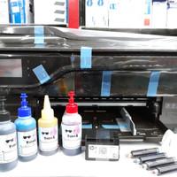 Printer A3 HP OfficeJet OJ 7612 Sudah infus + Tinta