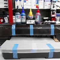 Printer HP Officejet 7110 Wide Format OJ7110 Sudah infus +Tinta