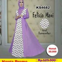 Baju Muslim felicia maxi KS4682