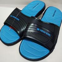 sepatu sandal pria SANDAL KARET PRIA NEW ERA Model Sandal Crocs