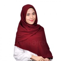 JilbabAfra Jilbab Pashmina PASHA 11 Merah Marun