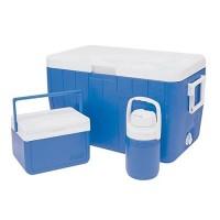 3-Piece 48 Quart Cooler Combo BLUE