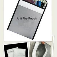 Harga anti fire document pouch tas anti api penyimpanan paspor | antitipu.com