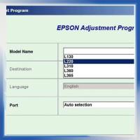 Resetter / Reseter / Reset Printer Epson L130, L220, L310, L360, L365