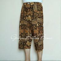 celana batik 3/4 ukuran standar