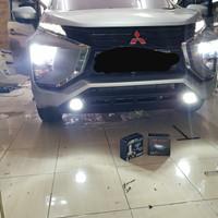 lampu led mobil h4 led philips x3 lumiled 12000 lm