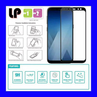 Tempered Glass Hp samsung A6 Plus Gorila Glass Full Layar kaca