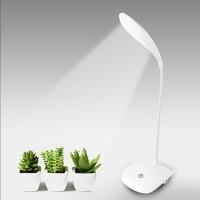 Jual LOI - Lampu LED Meja Belajar Rechargeable Desk Lamp Reading Book Lamp Murah