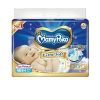 Harga popok perekat mamypoko extradry nb84 isi 84 pcs untuk bayi baru | Pembandingharga.com