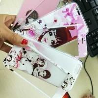 ANIMASI KOREA PLUS TEMPERGLASS FOR IPHONE 6