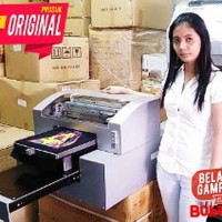 PRINTER SABLON KAOS DTG A3 BAHAN TEXTILE PRINTER MESIN DISKON