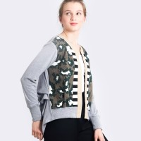 Harga new oline workrobe just a simple cardi in camoprint mix | Pembandingharga.com