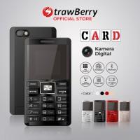 Strawberry – Card | Handphone Candybar HP Murah Kamera Bluetooth