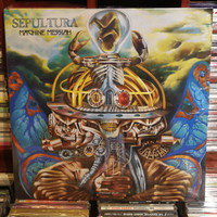 LP Sepultura - Machine Messiah Album Vinyl Piringan Hitam (2LP)