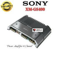 Power Amplifier 4-Channel SONY XM-GS400 Audio Mobil 4Ch XMGS400