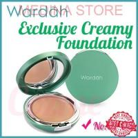 ORIGINAL Alas Bedak Wardah Exclusive Creamy Foundation