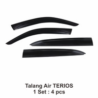 TALANG AIR / DOOR VISOR for TERIOS INJECTION HIGH QUALITY