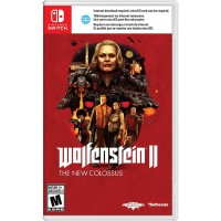 USED/BEKAS Switch Wolfenstein II : The New Colossus (USA/English)