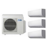 Daikin AC Multi-S MKC50RVM4 (1 PK + 1 PK + 1 PK) Inverter Putih Khusus