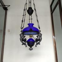 Lampu Gantung Jadul Antik Kerek R-35 Model Katrol Klasik Jawa/Betawi