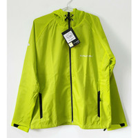 Kalibre EDGE 01 Jaket Hoodie Outdoor Anti Air Jacket Lari Hijau Neon