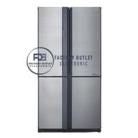 Kulkas Sharp Refrigerator Queen Series J-Tech Inverter SJ-IF85PB-SL