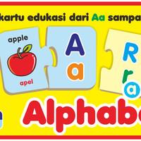 Mainan Edukasi/Edukatif Anak- Kartu Edukasi/Edufun Alphabet
