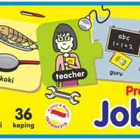 Mainan Edukasi/Edukatif Anak- Kartu Edukasi/Edufun Jobs