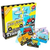 Mainan Edukasi/Edukatif Anak- Kartu Edukasi/Edufun Transportasi