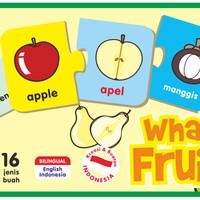 Mainan Edukasi/Edukatif Anak- Kartu Edukasi/Edufun What's Fruit