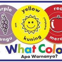 "Mainan Edukasi/Edukatif Anak- Kartu Edukasi/Edufun Puzzlo ""What Color"""