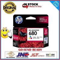 Tinta HP 680 Color Printer HP Deskjet 2135 3635