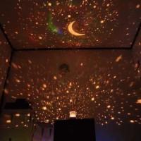 Lampu Tidur Proyektor Star Master Bulan Bintang No Musik No Putar Unik