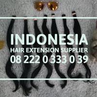 Rambut Sambung Hair Extension SUPER TEBAL 60CM Per 100 Helai Murah