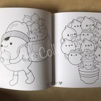 ATK0548DB v2 Kawaii Doodle Buku 731067 Mewarnai Color Therapy Book col
