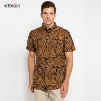[Arthesian] Kemeja Batik Pria - Garuda Kencana Batik Printing