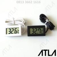Thermometer Termometer Digital + Probe Kabel Sensor Suhu EU011