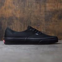 Terlaris Sepatu Vans Authentic Original Premium Full Black