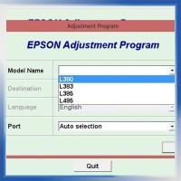 Resetter / Reseter / Reset Printer Epson L380, L383, L385, L485