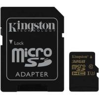 Kingston Gold MicroSDHC GoPro UHS-I Class 10 4K (90MB/s) - 32GB