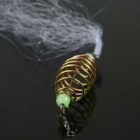 Umpan Pancing Jaring Ikan Spring Size 10 Luminous Beads - Multi Warna