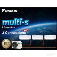 AC Daikin Multi S 3 Koneksi 1/2 PK + 3/4 PK + 3/4 PK