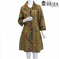 Harga batik huza dress kerah kotak | Pembandingharga.com