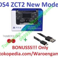 Harga ps4 stick controller new dual shock 4 cuh zct2 series ds4 jet black | Hargalu.com