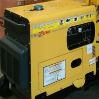 Promo Genset silent Diesel 7000 watt 1 phase murah berk Limited