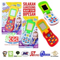 Mainan Music Cellular Phone HP Warna RANDOM Edukasi Anak SNI
