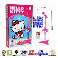Mainan Mic Karaoke Anak Hello Kitty Single Pink Promo Murah Microphone