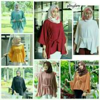 Blouse Wanita - Kemeja Blouse - Clove Top - Rina Baju Atasan Wanita