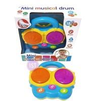Mini Musical Drum Band Mainan Anak Kecil Cowok Alat Musikal Laki Musik